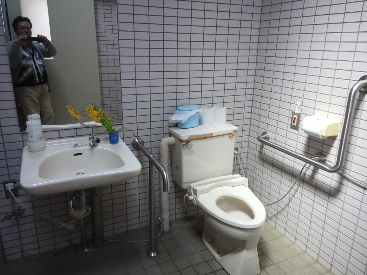 道の駅 上野トイレ1