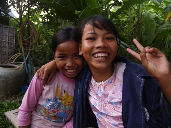 カンボジアの子ども