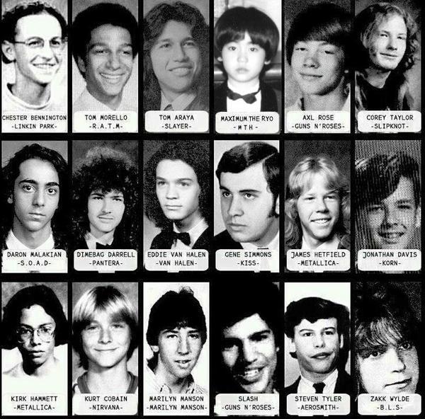 ロックスター達の少年時代