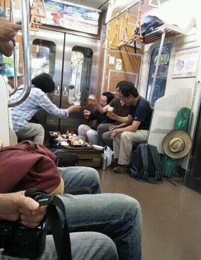電車で宴会&スタンド・バイ・ミーの原題
