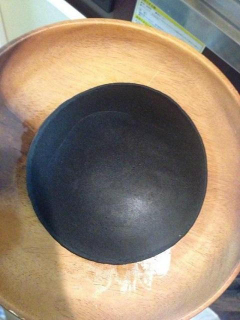 黒焦げホットケーキ