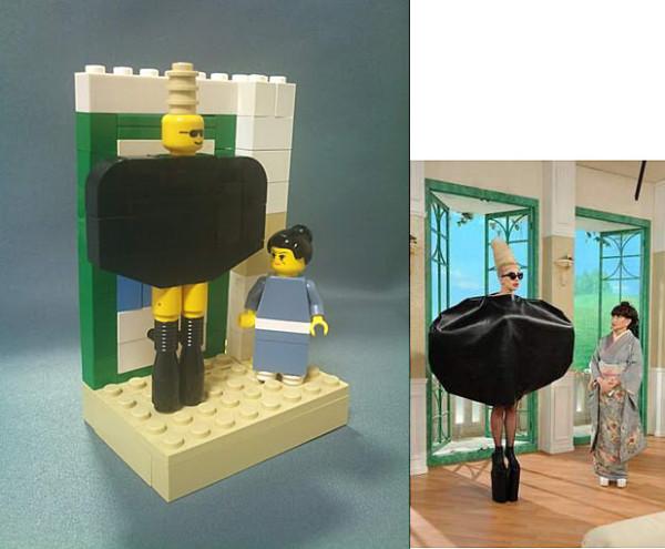 レゴでガガ様