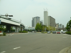 朝潮橋交差点