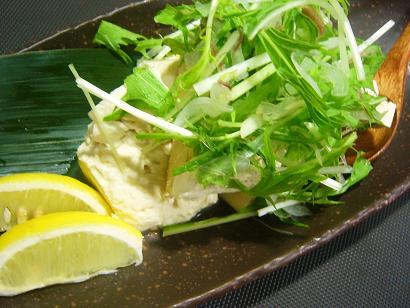 香味野菜と豆腐 (1)