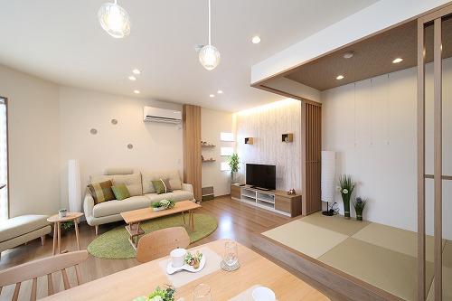 LDKと可愛い和室です。