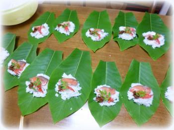 ほうば寿司1
