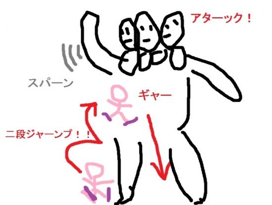 マガツアタックの図