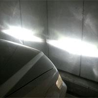 ヘッドライトの光軸