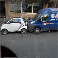 縦列駐車の事故