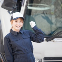 女性整備士