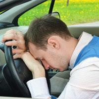 運転に疲れた人