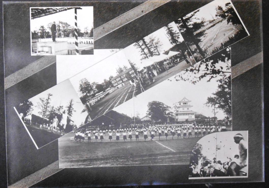 水戸城 運動会の光景