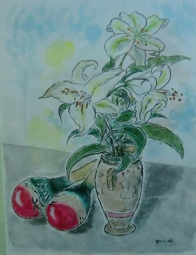 花とマラカス 小柳泰之4974