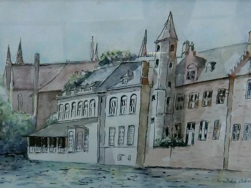ベルギーの風景酒井邦孝4972