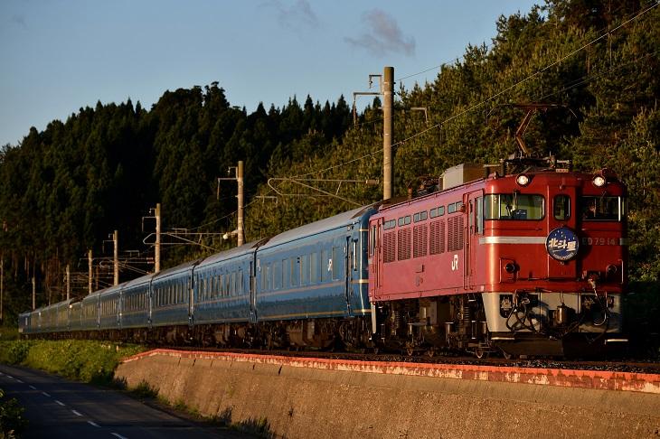 8007レ 蟹田ストレート