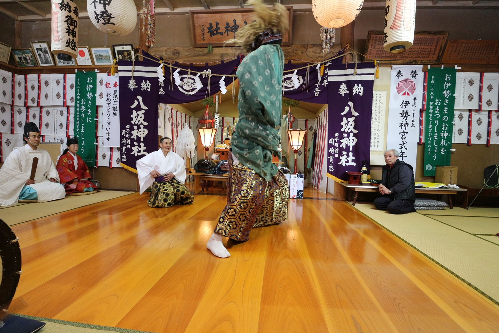 田子神楽 権現舞02