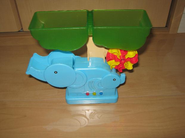 ゾウさん水遊びの修理(パターン切れ)外観