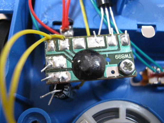 ビッグトラックの修理(電子オルゴール換装)診察2