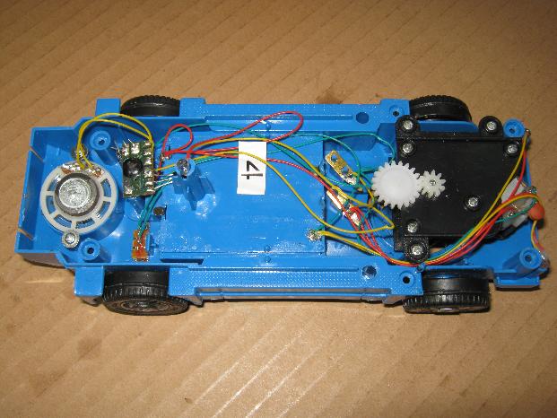 ビッグトラックの修理(電子オルゴール換装)診察1