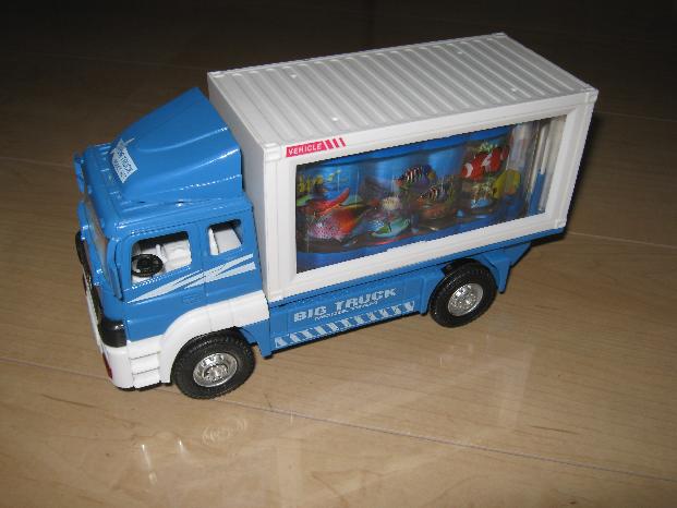 ビッグトラックの修理(電子オルゴール換装)外観