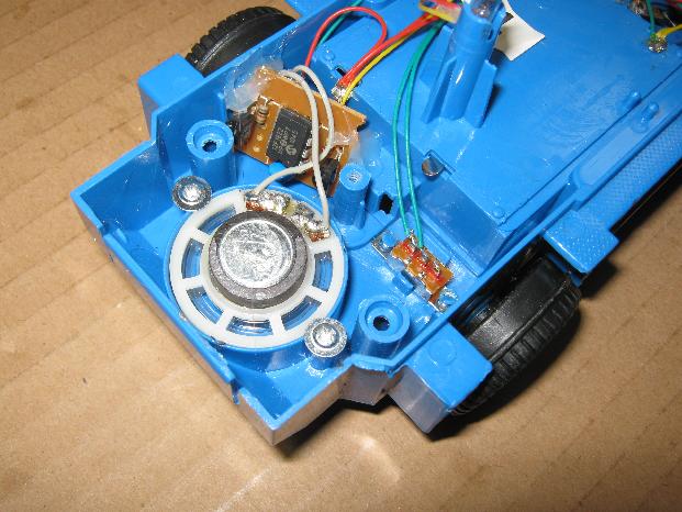 ビッグトラックの修理(電子オルゴール換装)治療3