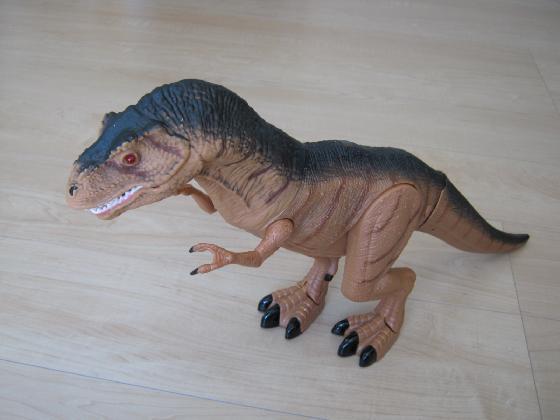 メガザウルスの修理(赤外線デコーダ換装)外観