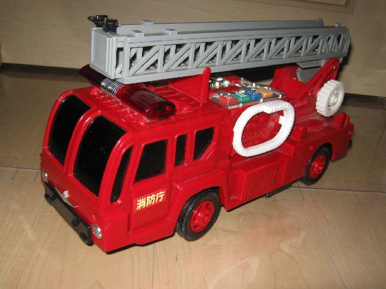 ALPS消防車(マイコン換装)外観