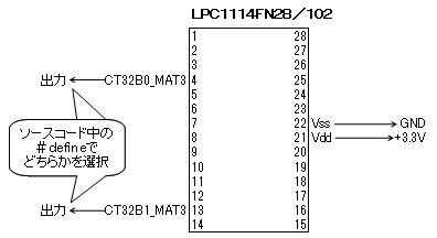 LPCで音声再生回路図