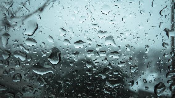 Raining day Ubuntu 壁紙