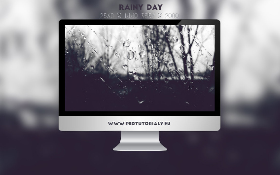 Rainy Day Ubuntu 壁紙