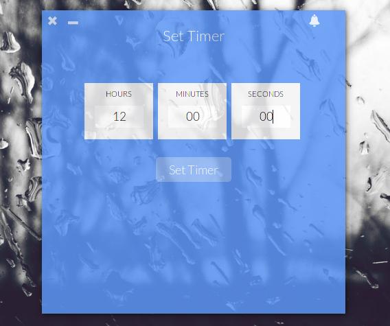 Up Clock Ubuntu デスクトップ 時計 タイマーの設定