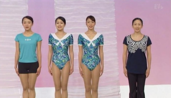 テレビ体操の岡本美佳さんです ...