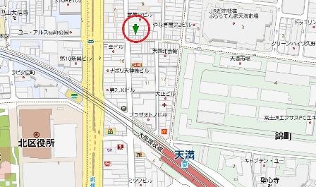 コミカビル地図