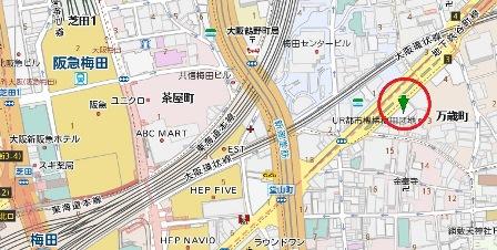 北大阪ビルディング地図