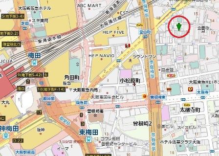 中通レジャービル地図