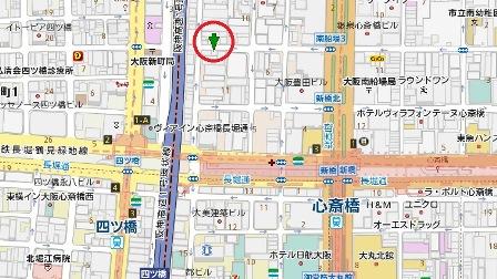 横堀センター地図