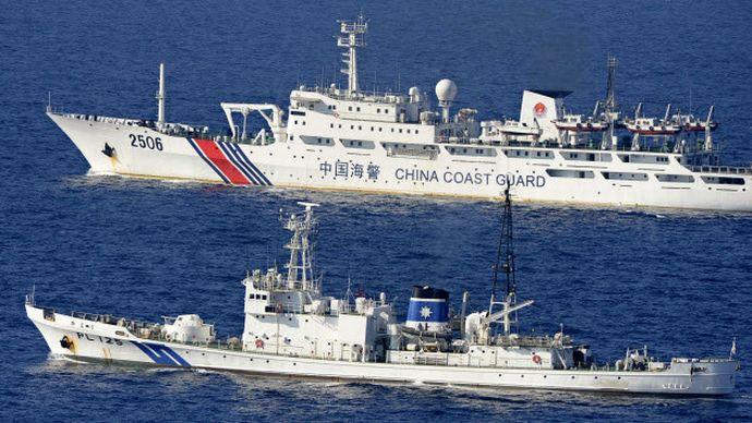 尖閣領海侵犯した中国船