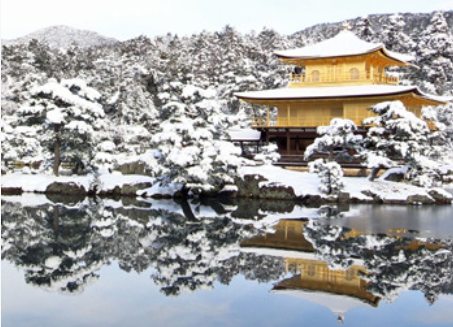 61年ぶりの大雪(京都)