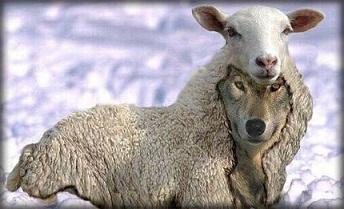 羊の皮を被ったオオカミ