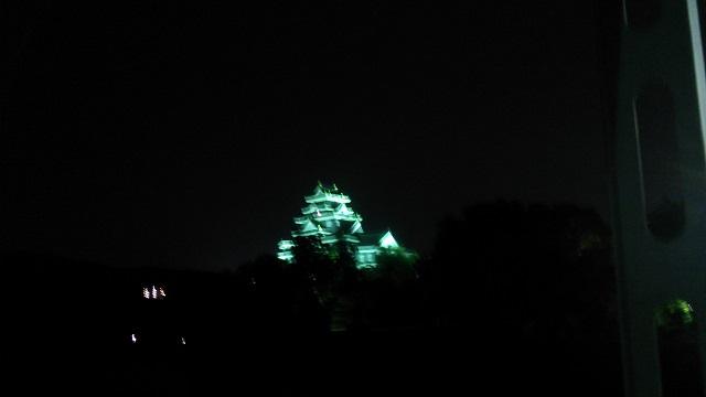 150617 月見橋より岡山城 ブログ用