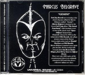 MARCUS BELGRAVE「GEMINI」