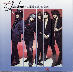 THE QUIREBOYS「A BIT OF WHAT YOU FANCY」