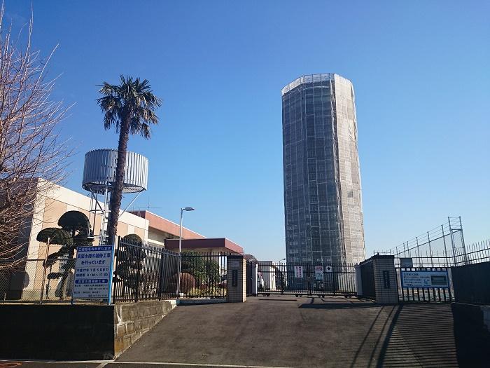 20150114北習志野分場高架水槽