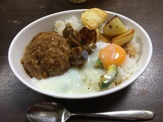 150211ロコモコ丼