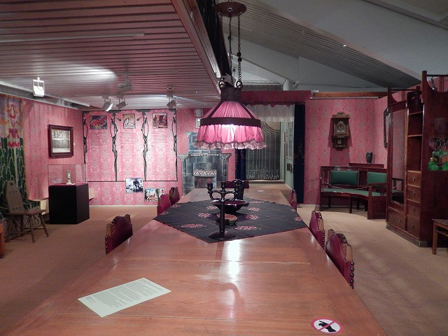 博物館昔の部屋