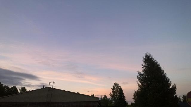 夏至前々日の空