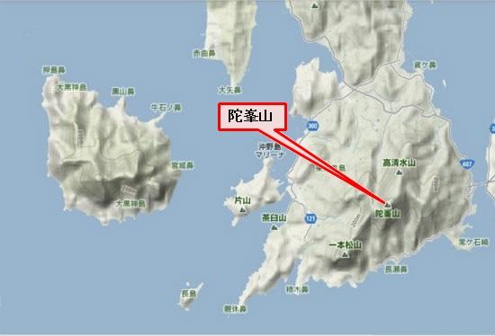 5)大柿町南部 陀峯山