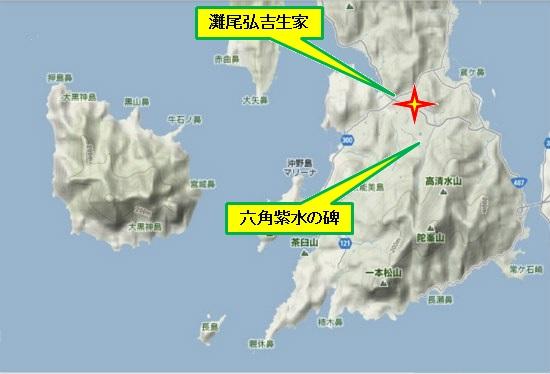 5)大柿町南部 大柿地区歴史資料館