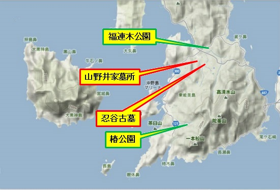 5)大柿町南部 福連木公園・椿公園