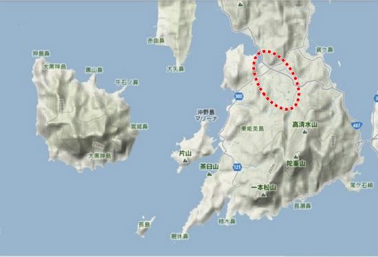 5)大柿町南部 大原街景色